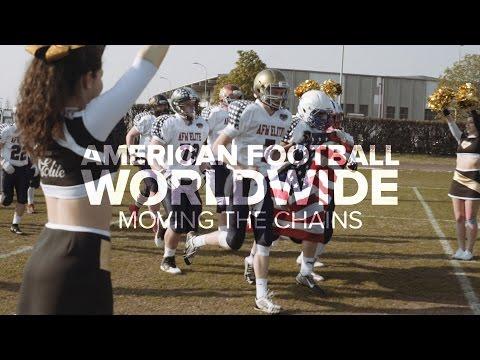 Moving the Chains: US High School Team Battles Italian National American Football Team