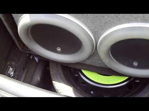 Subwoofer Videos. 2 JL Audio w7 13