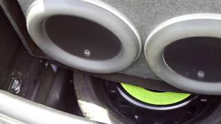 Subwoofer Videos. 2 JL Audio w7 13