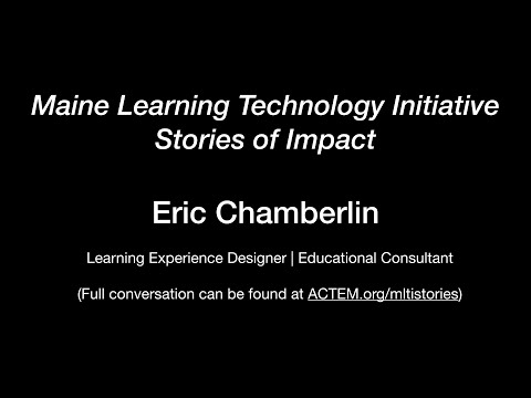 Eric Chamberlin - Learning Experience Designer