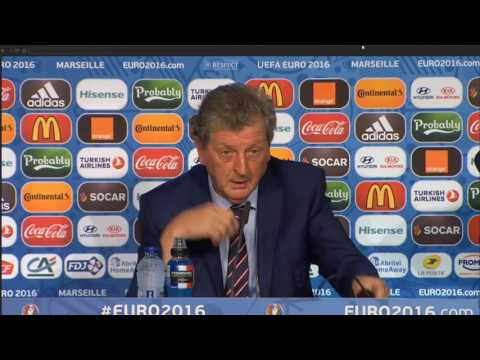 Roy Hodgson RAGE in post-match press conference (ENG 1-1 RUS)