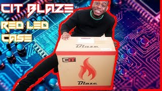 I BOUGHT THE CHEAPEST CASE ON AMAZON - CIT BLAZE GAMING PC CASE WITH 6 LED COOLING FANS