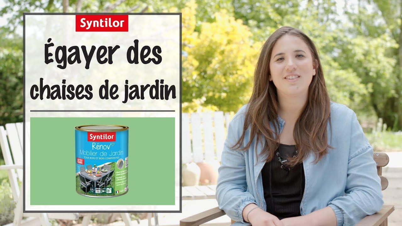 Peinture Jardin Choisir Pour De Chaises Ses Quelle Relooker TOPkiuXZ