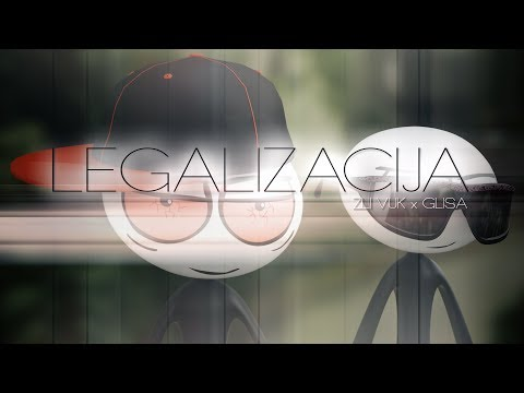 Zli Vuk X Glisa - Legalizacija (Official 3D Animation)