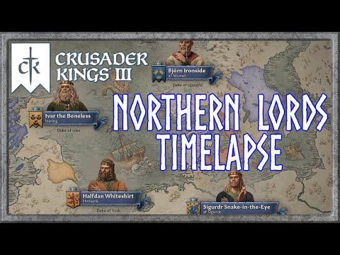 Crusader Kings 3 - Northern Lords Timelapse - 867 Start (1.3.0 Corvus) |