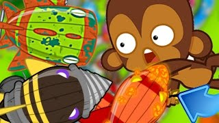 NEW BOSS BALLOONS UPDATE & MAKE YOUR TOWERS MORE POWERFUL! - Bloons TD Monkey City