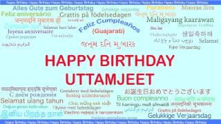 Uttamjeet   Languages Idiomas - Happy Birthday