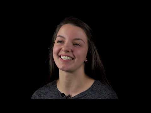 Megan Sobetski, Scholar-Athlete finalist, Bishop LeBlond High School