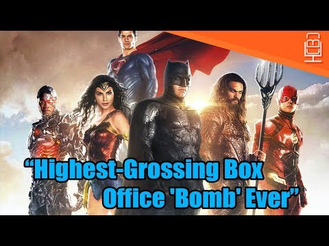 Justice League Is The Highest-Grossing Box Office Bomb Ever Says Forbes