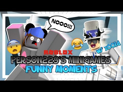 Person229's Minigames - ROBLOX Funny Moments (w/ Z00LD)