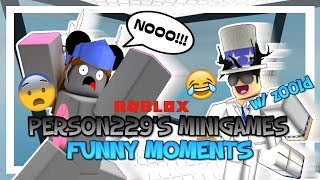 Person229's Minigames - ROBLOX Funny Moments (w/ Z00LD)