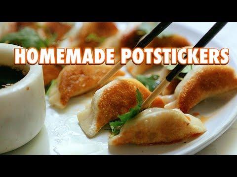 Potstickers Made From Scratch (Pan Fried Dumplings)