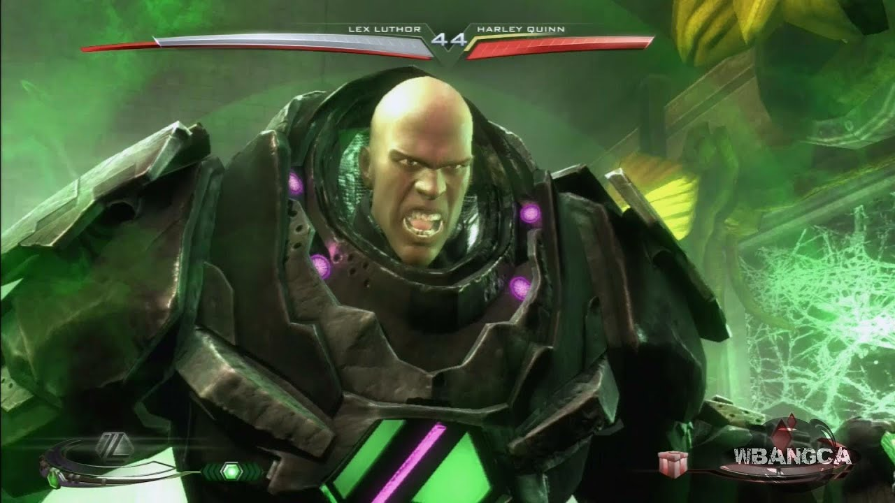 Suit lex luthor super attack moves review ultimate edition youtube