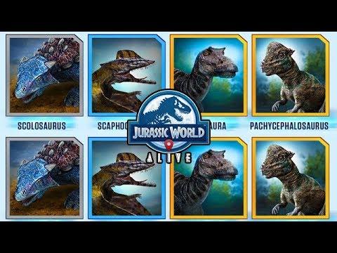 Go4cima Jurassic World Alive 1 6 Dinos