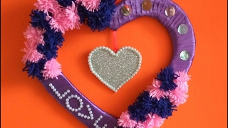 Valentine's day wreath/decoration/ gift | Wall decoration | Wall hanging