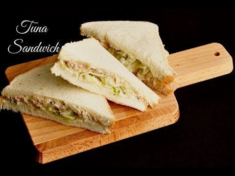 🥪 How To Make A Tuna Sandwich ( With Mayo )