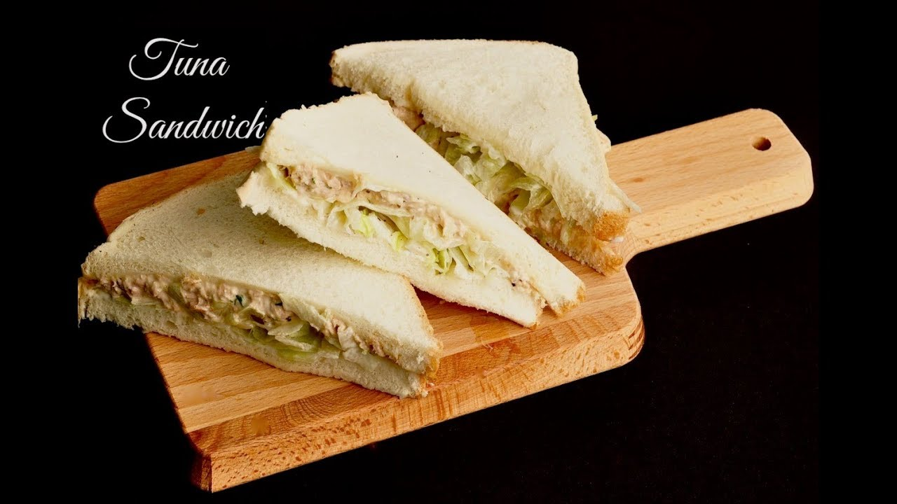 How To Make A Tuna Sandwich With Mayo