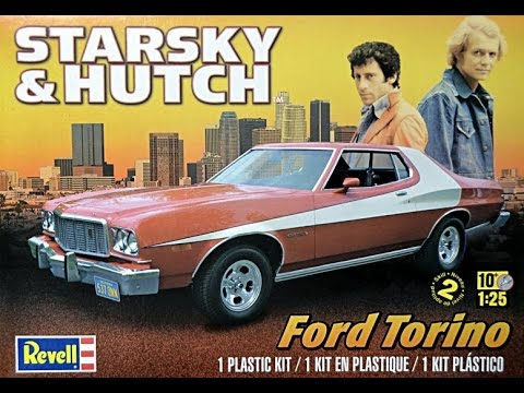 Revell 1/25 Starsky & Hutch Ford Torino Model Kit Review