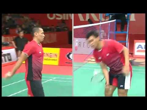 SF - MD - Mohammad Ahsan/Bona Septano vs.Chai Biao/Guo Zhendong - 2011 Djarum Indonesia Open