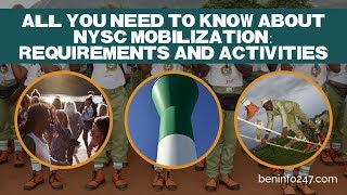 All You Need to Know About NYSC Mobilization: Requirements and Activities