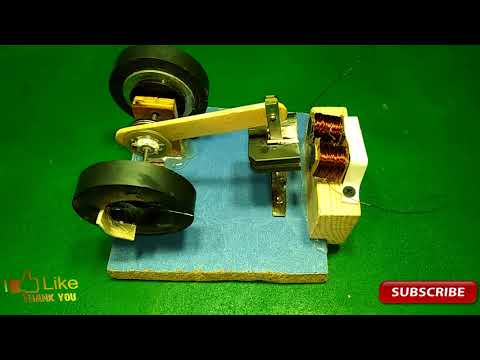 how to make powerful engine and used a light bulb new technology 100% working real