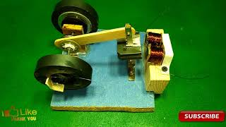 how to make powerful engine and used a light bulb new technology 100% working real thumbnail