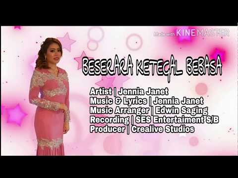Beserara Ketegal Bebasa | Jennia Janet (Official Lyric)