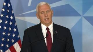 """VP Pence """"Disappointed"""" Flynn Misled Him"""