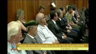 Sessão Solene - Comemorativa ao Dia do Tiro de Guerra 02-076 - 2017