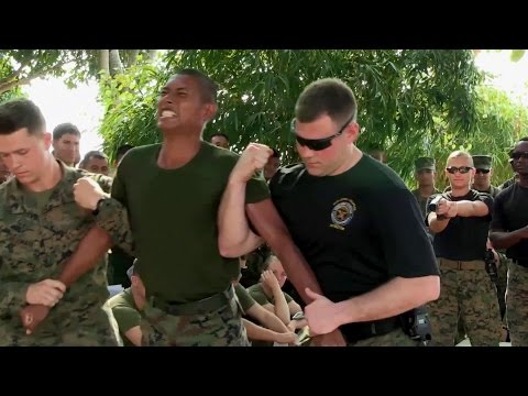 Thai, U.S. Marines Get Tased - Super Painful TASER Training