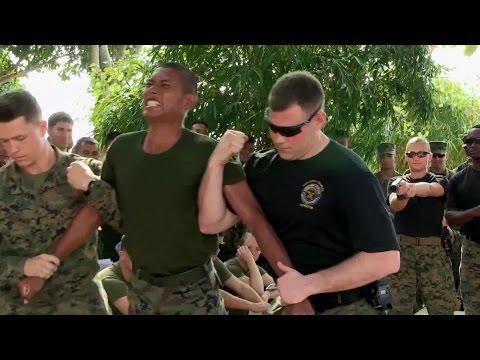 Thai, U.S. Marines Get Tased - Super Painful TASER Training