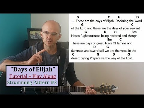 Days Of Elijah chords by Mark Robin - Worship Chords