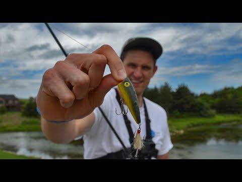 Bass Fishing In A Kansas Pond