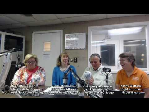 Linda Strohschein & Silver Solutions Radio on The Naperville Eldercare Channel