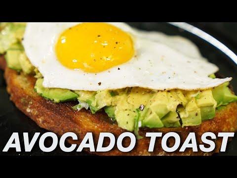 Easy Avocado Toast Recipe (plus poached egg tutorial) thumbnail