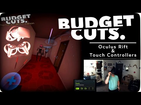 1896ce2dd11 Budget Cuts demo on Oculus Rift CV1 with Touch   oculus