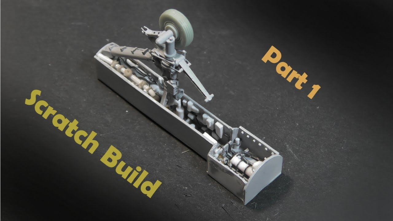 F/A-18E 1/72 - Landing Gear and Wheel Well - Part 1