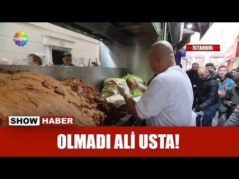 Olmadı Ali Usta!
