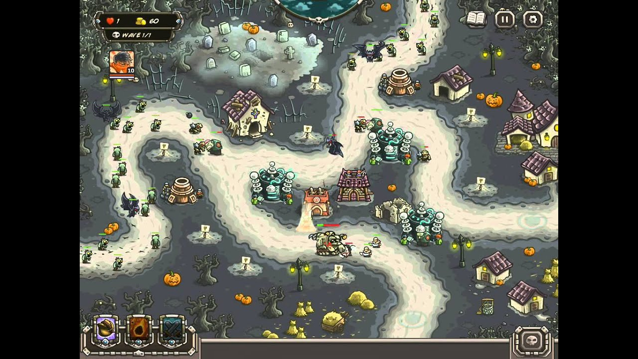 Kingdom Rush Frontiers BONESBURG IRON CHALLENGE VETERAN ...