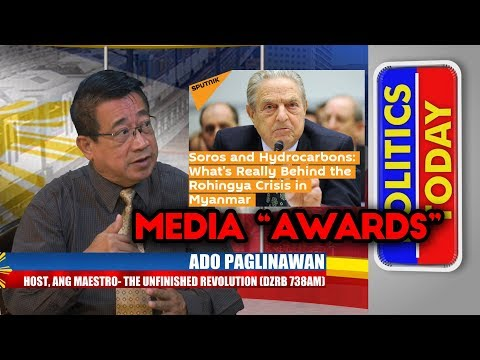 "TALK NEWS TV APRIL 21 2018 PART 2 - ""Info Wars and Media Awards"""