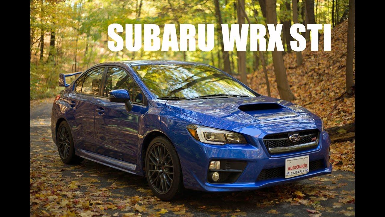 2017 Subaru Wrx Sti Review You