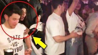 Priyanka Chopra DRUNK And FALLS, Hubby Nick Jonas Comes To Rescue