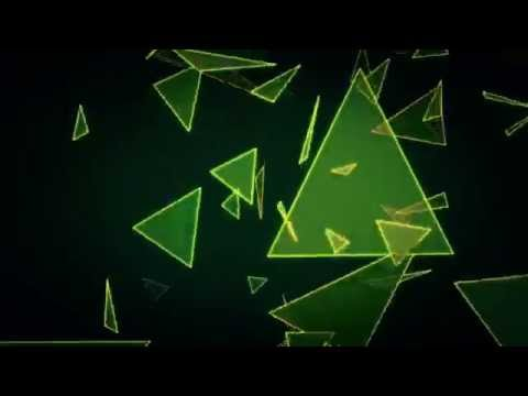 #1- Free Abstract Triangles Background Loop- HD