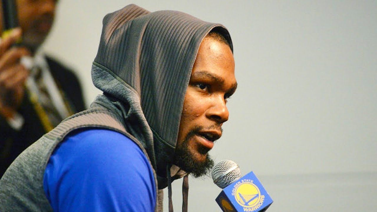 46e59a3f1cb Kevin Durant Reacts to LeBron James Trade! Kevin Durant Says Cavs Can t  Trade LeBron James