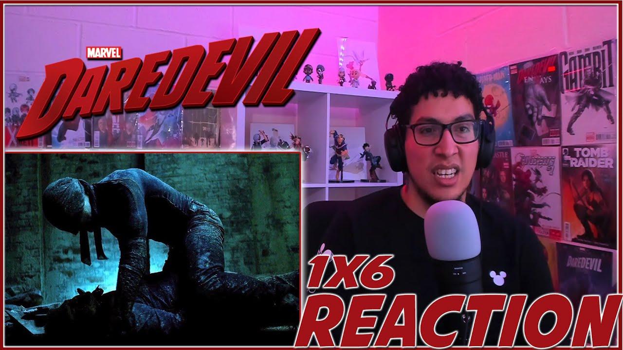 "Download ""I'M NOT A KILLER"" | Daredevil 1x6 REACTION!!! |Season 1 Episode 6"