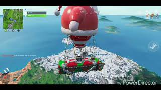Fortnite #2 its begging to look a lot like Christmas