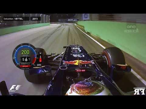 F1 Lost Corners Onboard   F1 2008-2012 - Singapore Sling Chicane (Marina Bay)