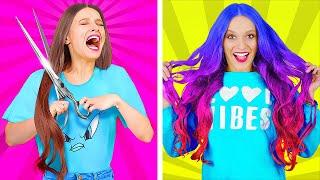 ЛАЙФХАКИ ЧТОБЫ ВЫГЛЯДЕТЬ ВЕЛИКОЛЕПНО Модные трюки и макияж от 123 Go Like