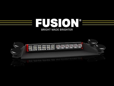 Fusion Deck / Dash Light // The Brightest Deck And Dash Lights For Police, Firefighters And EMS