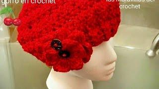 Gorro a Crochet (ganchillo) Para Mujer❤🌺 - YoutubeDownload.pro 4a9fe98c9cd